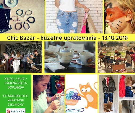 4ef81c975fa2 Druhá víkendová sobota v októbri bude patriť opäť priaznivcom bazárov a  dobrých myšlienok za účelom sprostredkovať predaj či výmenu chic oblečenia  a ...